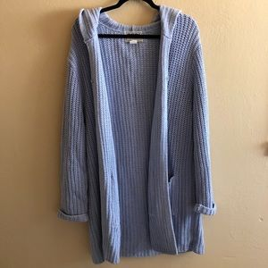 Sweaters - Open front 100% cotton cardigan